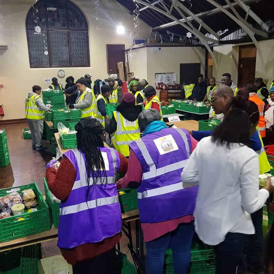 Christmas and new years eve food distribution 2018