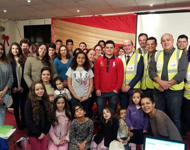 ECE partners with Portuguese Church