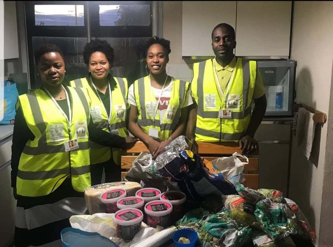 Volunteers in Leeds impacting the community
