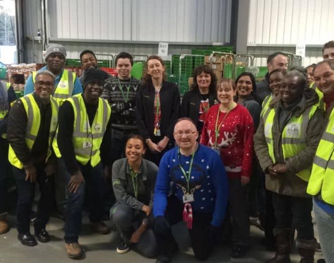 Waitrose Coulsdon Depot Christmas:New Years Eve